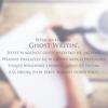 GhostWritin'