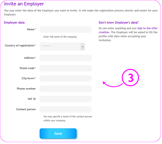 addition of Employer's data